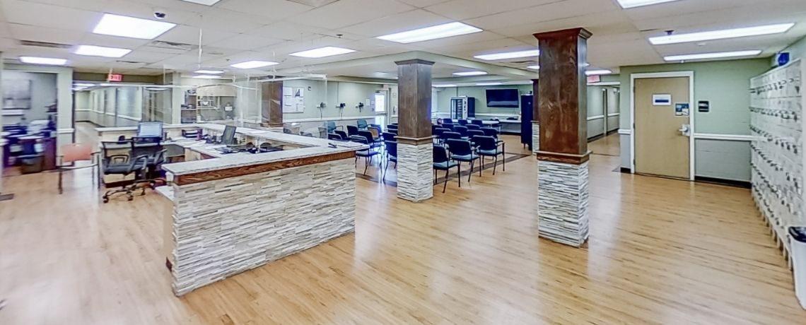 Residential Tech Desk post
